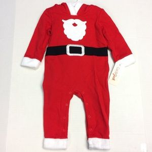 Infant Santa Onesie Outfit